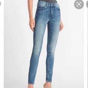 Express denim perfect legging high rise jeans 10R